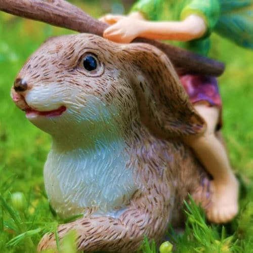 rabbit fairy ornament ireland