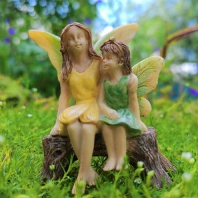 girl fairy garden figurines