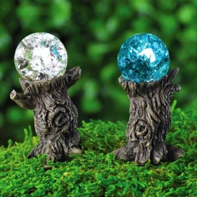 miniature crystal balls