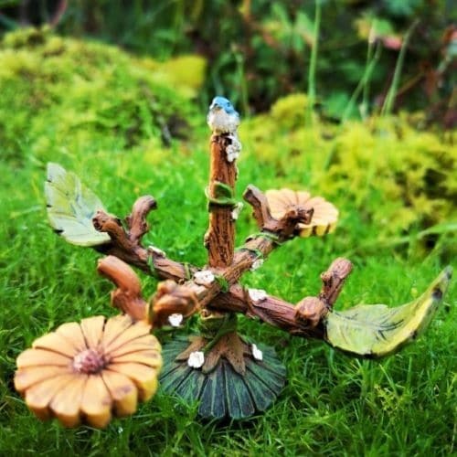 fairy garden carousel