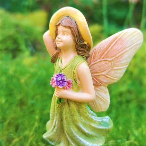fairy ornament with cute hat