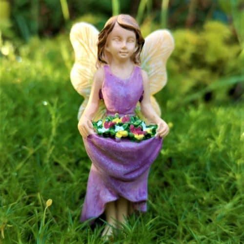 purple fairy figure