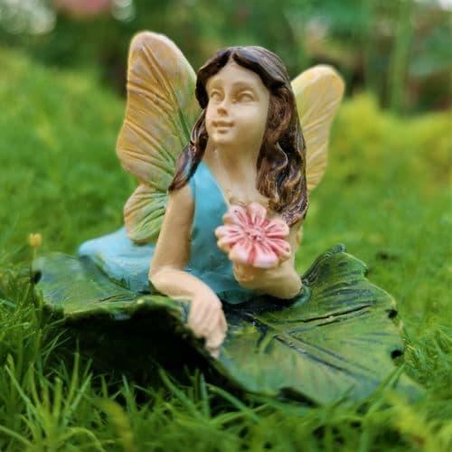 relaxing fairy figure