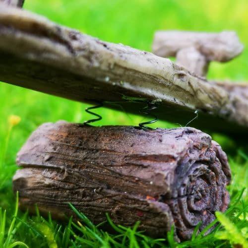 working miniature seesaw