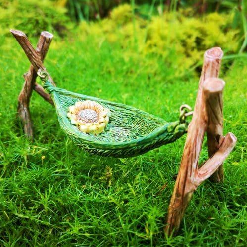 fairy garden hammock