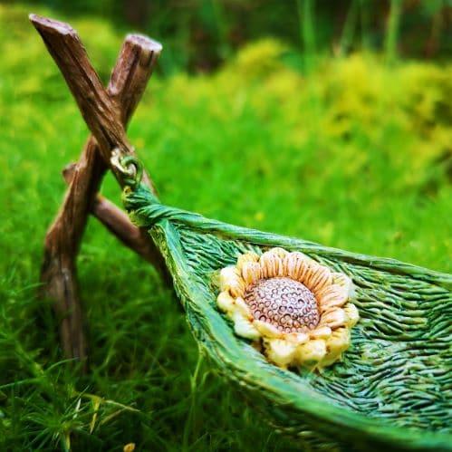miniature hammock ornament