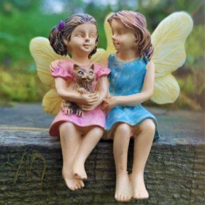 fairy sisters figurine