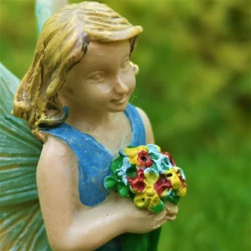 bluebell flower fairy figure