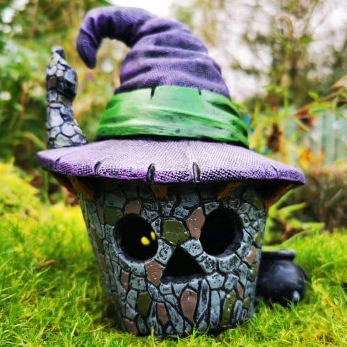 scary halloween fairy home