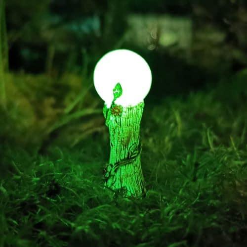glowing fairy crystal ball
