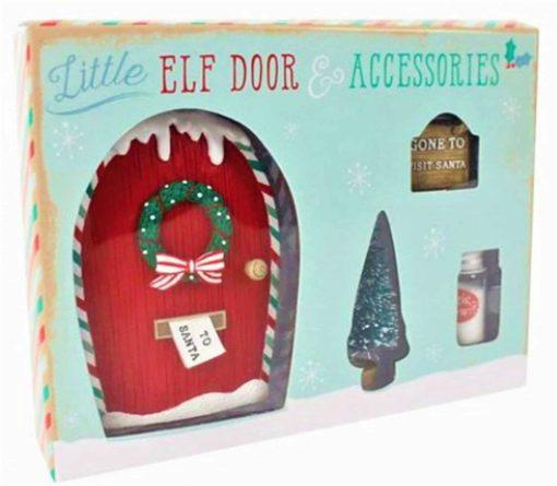 boxeed elf door and accessories set