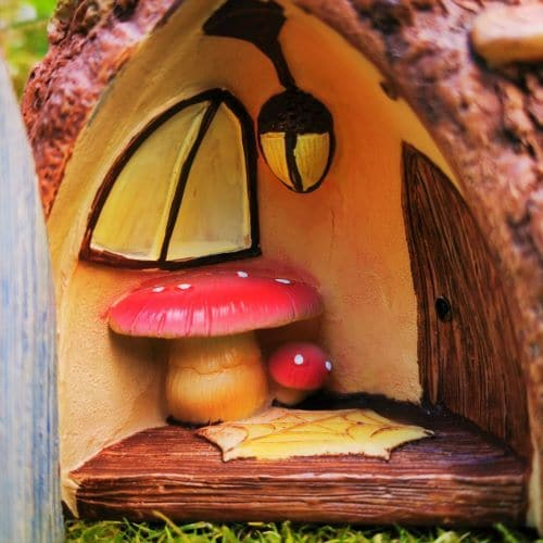 interior of fairy house
