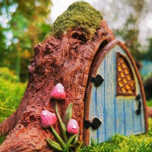 exterior of the fairy house