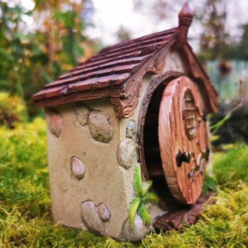 side view of hobbit hole