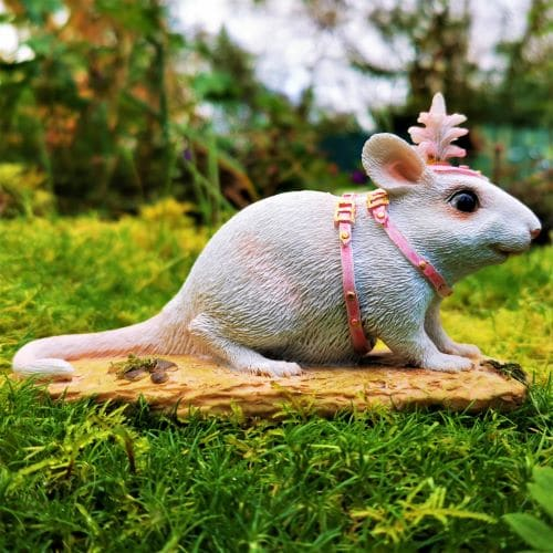 circus mouse ornament