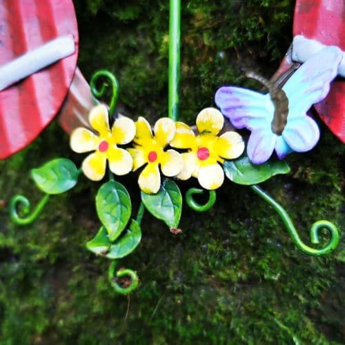 fairy garden window tree