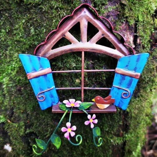 blue fairy window