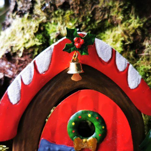 fairy door with bell