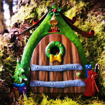 christmas fairy doors