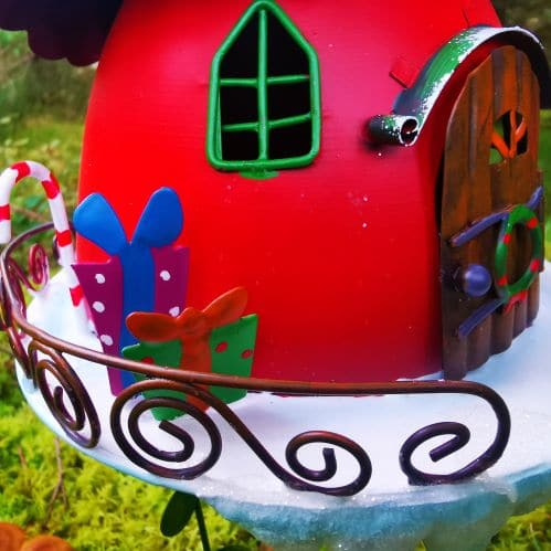 christmas presents elf house