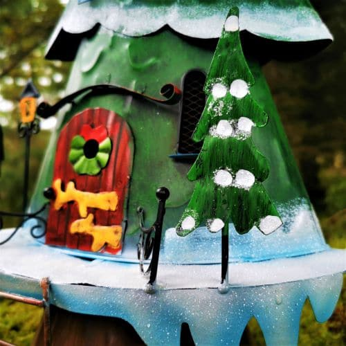 christmas tree fairy door