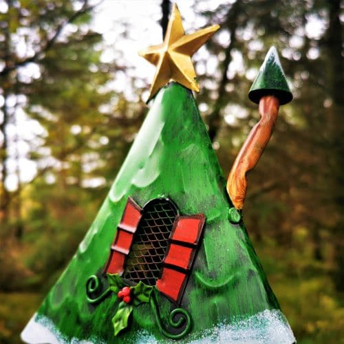 fairy house christmas chimney
