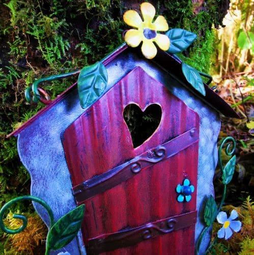 flower fairy doors