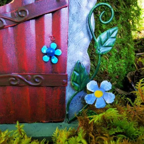 growing metal fairy flowers
