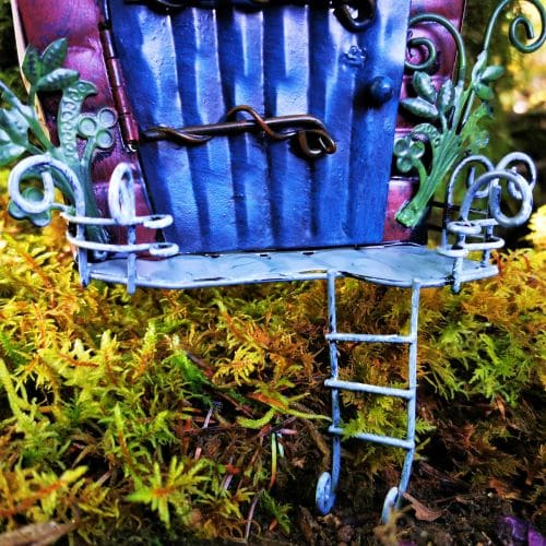 balcony ladder of fairy door