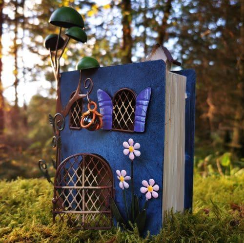 book fairy house