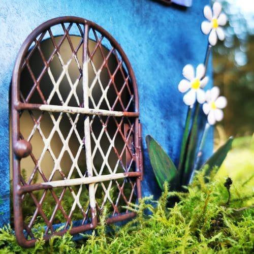 opening metal door fairy home