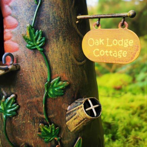 oak lodge fairy sign