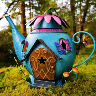 teapot fairy houses