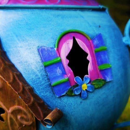 teapot fairy window