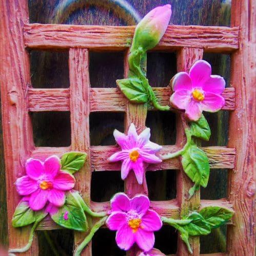 fairy garden trellis