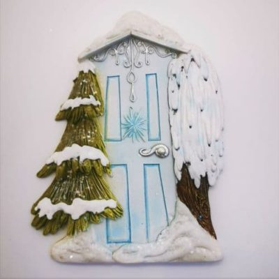 christmas irish fairy door