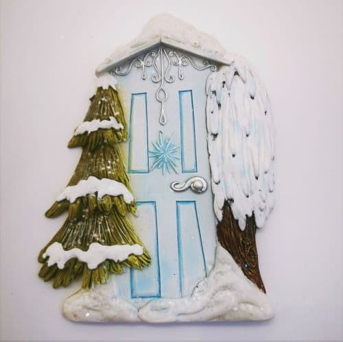 christmas irish fairy door