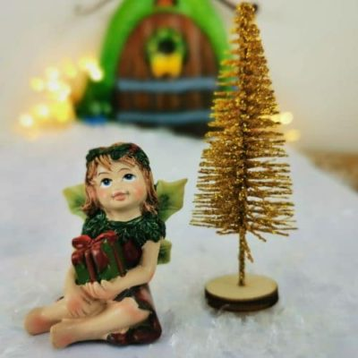 irish fairy christmas figurines