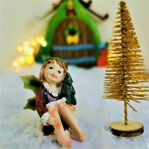 christmas fairy figures