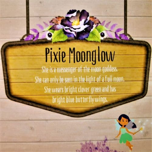 pixie moonglow night light