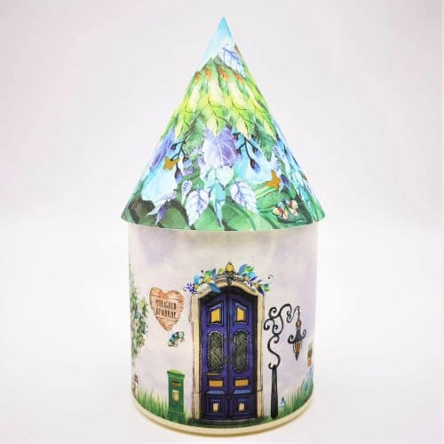 marigold fairy house