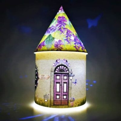 irish night light fairy house