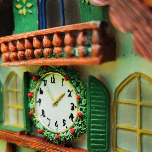 balcony of clock house