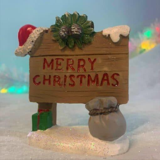 Christmas fairy sign