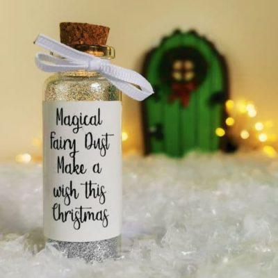 christmas fairy glitter
