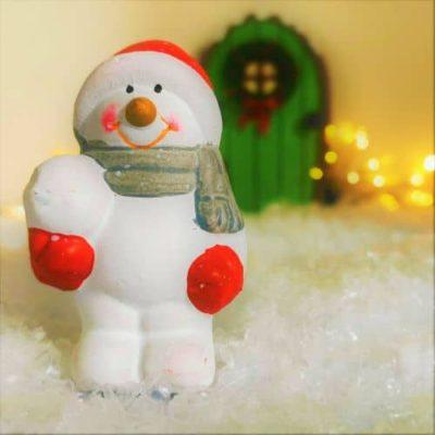 fairy door snowman