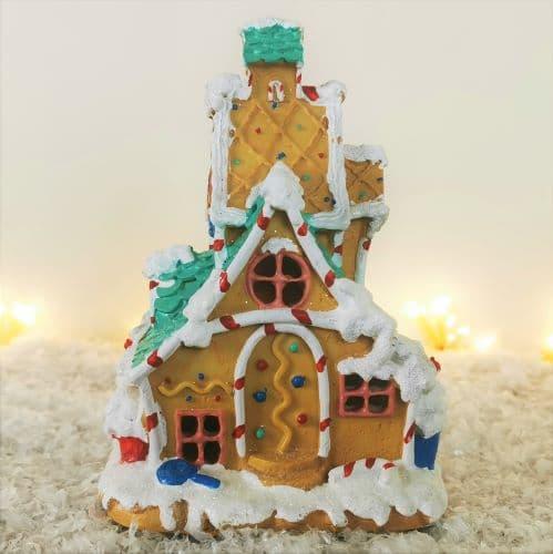 fairy house gingerbread