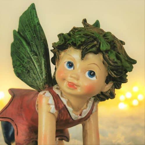christmas fairy ornament