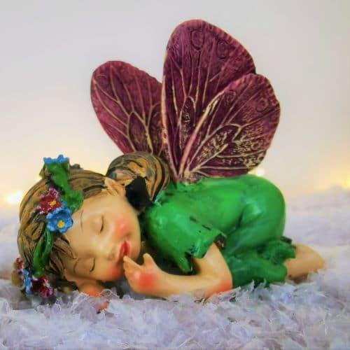 sleeping fairy figurine ireland