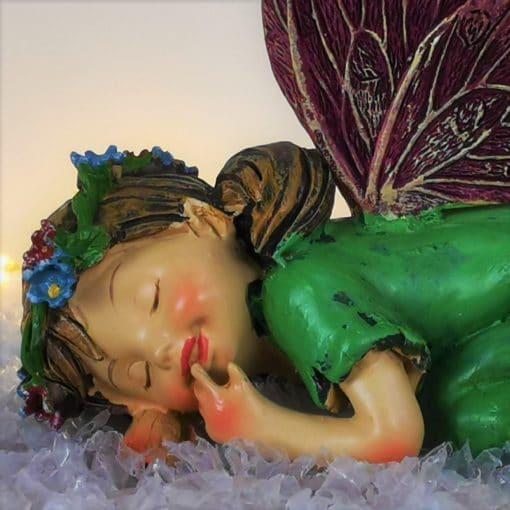 sleeping fairy ornament